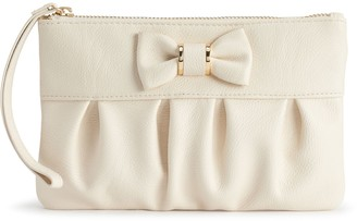Apt. 9 Bobby Bow RFID-Blocking Wristlet