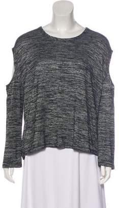 Rag & Bone Cutout Long Sleeve Sweater
