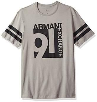 Armani Exchange A|X Men's Varsity Inspired Crew Neck Tee
