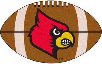 NCAA Fanmats FANMATS Louisville Cardinals Football Rug