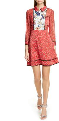 Ted Baker Colour by Numbers Valoria Long Sleeve MInidress