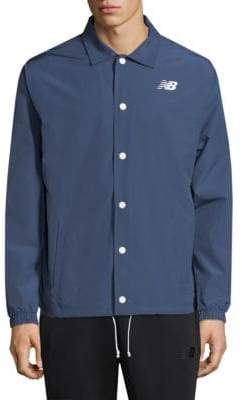 New Balance Camo Snap-Button Jacket