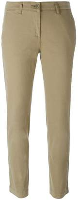 P.A.R.O.S.H. straight cropped trousers