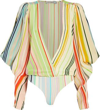 Silvia Tcherassi Caledonia Blouson Bodysuit