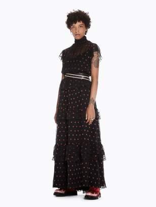 Scotch & Soda Star Print Maxi Dress