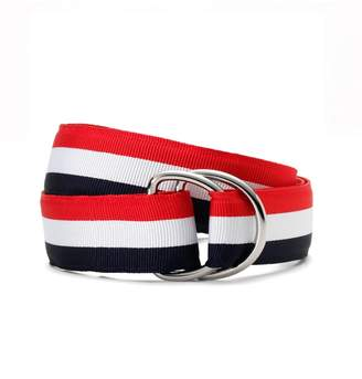 Brooks Brothers Boys Stripe Ribbon Belt