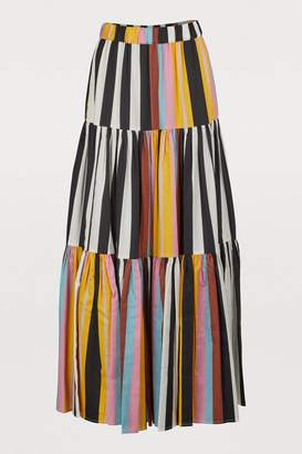 Tory Burch Pleated midi skirt