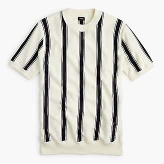J.Crew Pima cotton striped crewneck sweater