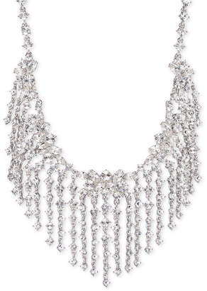 "Givenchy Crystal Fringe 19"" Statement Necklace"
