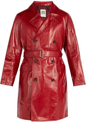 CONNOLLY Leather trench coat