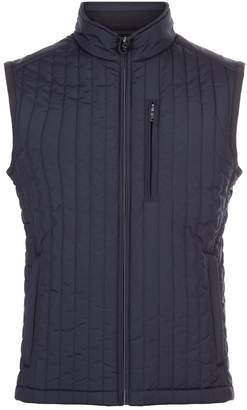 Hackett Quilted Ribbed Gilet