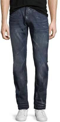 PRPS Demon Distressed Slim-Straight Jeans