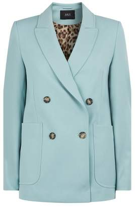 SET Double-Breasted Long-Line Blazer