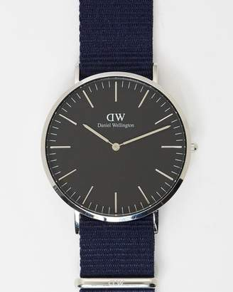 Daniel Wellington Bayswater Silver 40mm