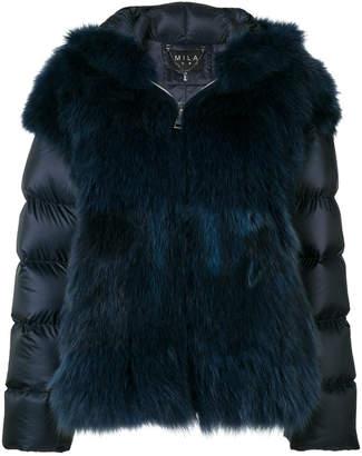 Cara Mila Maira detachable fur jacket