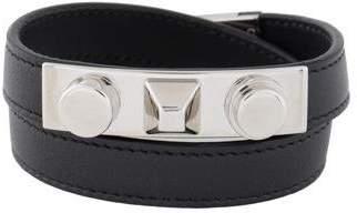 Saint Laurent Le Trois Clous Double Wrap Bracelet