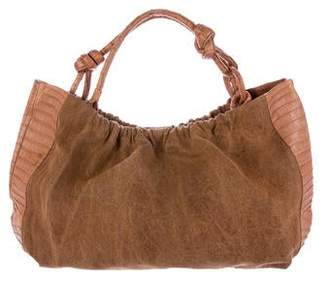 Nancy Gonzalez Crocodile & Canvas Hobo