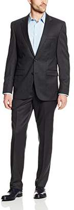Kenneth Cole New York Men's Slim Fit Solid Suit