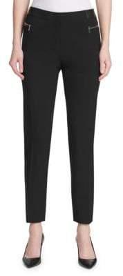 Calvin Klein Classic Straight-Leg Pants