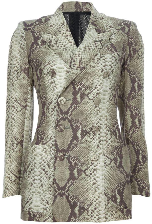 Jean Paul Gaultier Vintage print suit
