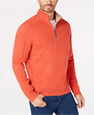 Tommy Bahama Men Reversible Flip-Side Classic Sweatshirt