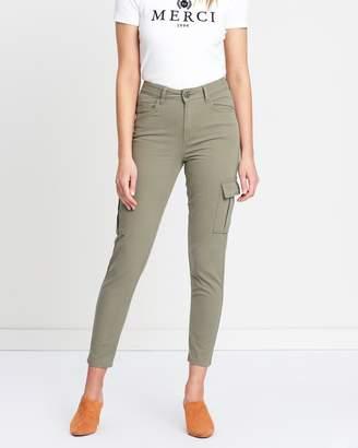 Miss Selfridge Skinny Cargo Trousers