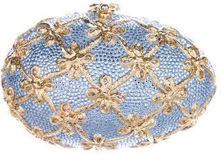 Judith Leiber Fabergé Egg Minaudière $1,200 thestylecure.com