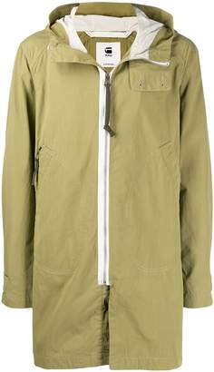G Star Research hooded coat