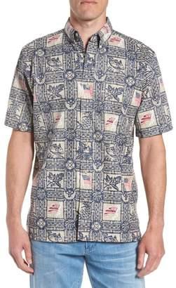 Reyn Spooner Summer Commemorative 2018 Classic Fit Print Sport Shirt
