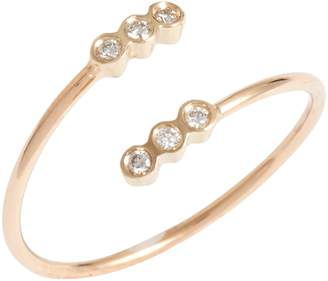 Chicco Zoe Diamond Bezel Open Ring