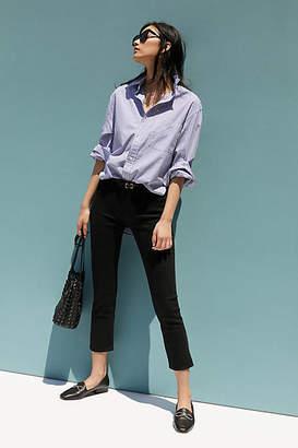 Paige Brigitte Low-Rise Slim Boyfriend Jeans
