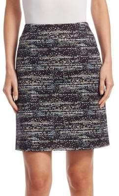 Akris Punto Twilight-Print Mini Skirt