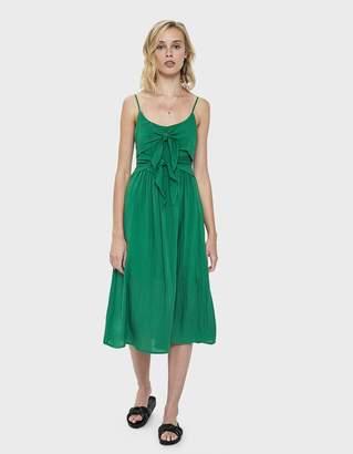 b320e9086644 Pippa Farrow Tie Midi Dress in Green
