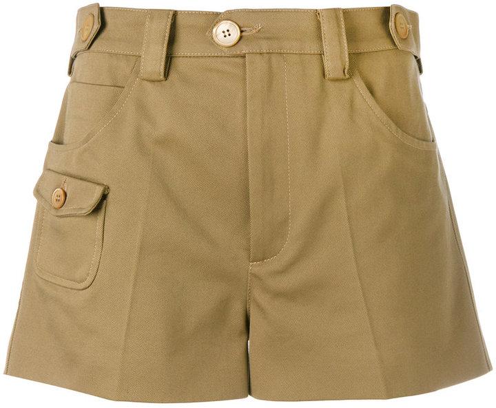 Miu MiuMiu Miu short cargo shorts