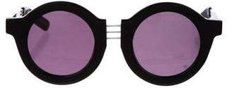 House of Holland Tinted Circular Sunglasses