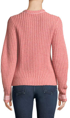 Rag & Bone Cheryl Long-Sleeve Crewneck Sweater