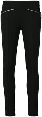 Michael Kors zip-detailed skinny trousers