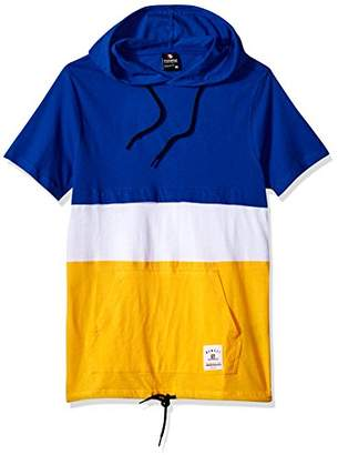 Southpole Men's Short Sleeve Hooded Fashion Tee