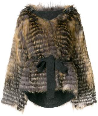 URBAN RESEARCH Liska hooded coat