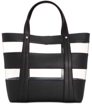INC International Concepts I.n.c. Clear Block Tote, Created for Macy's