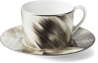 Ralph Lauren Gwyneth Horn Cup & Saucer