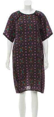 Sofie D'hoore Printed Silk Dress