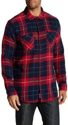 Weatherproof Slub Flannel Regular Fit Shirt