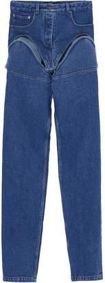 Y/Project Detachable leg unisex jeans