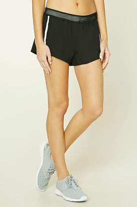 Forever 21 Active Dolphin Hem Shorts
