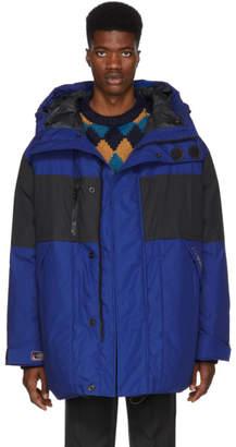 Lanvin (ランバン) - Lanvin ブルー オーバーサイズ ダウン パファー ジャケット