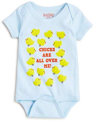 Bloomingdale's Sara Kety Boys' Chicks Are All Over Me Bodysuit - Baby