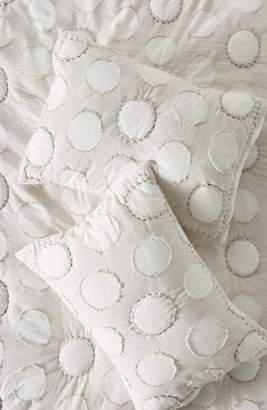 Anthropologie Polka Dot Set of 2 Shams