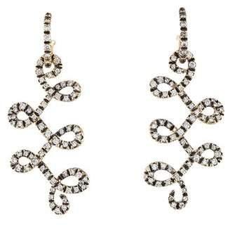 H.Stern Diamond Celtic Dunes Earrings