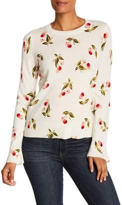 Joie Varden Cherry Cashmere Sweater
